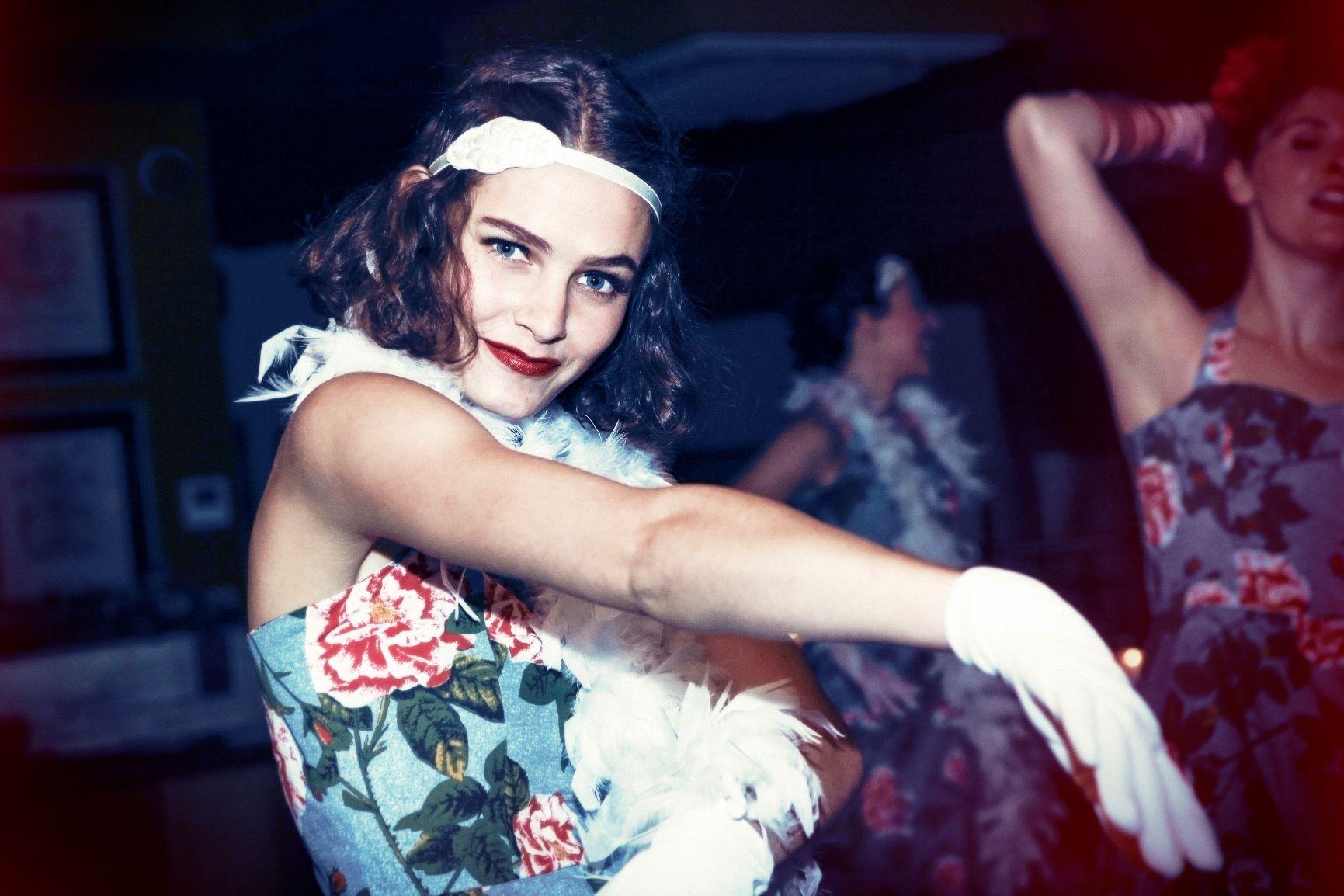 dancer showgirl
