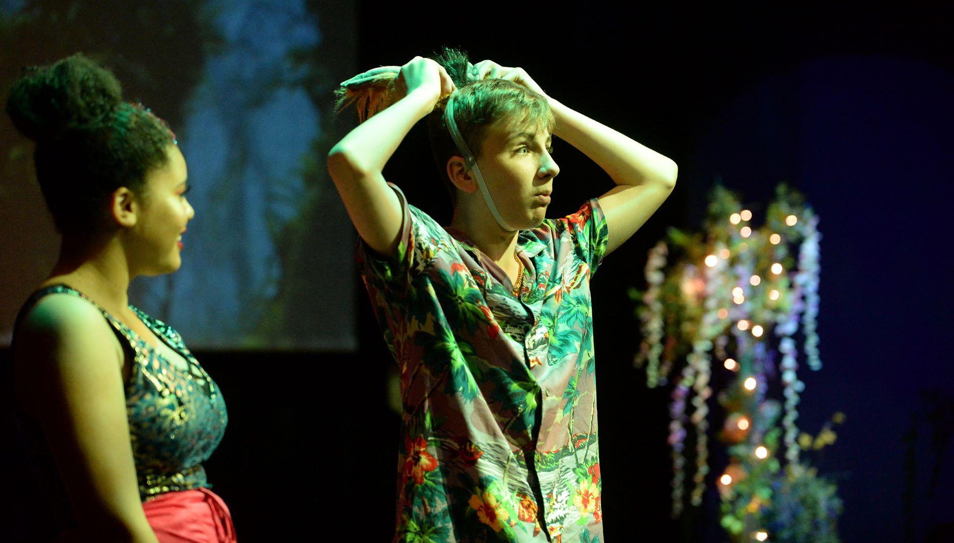 Actor dancer Noah