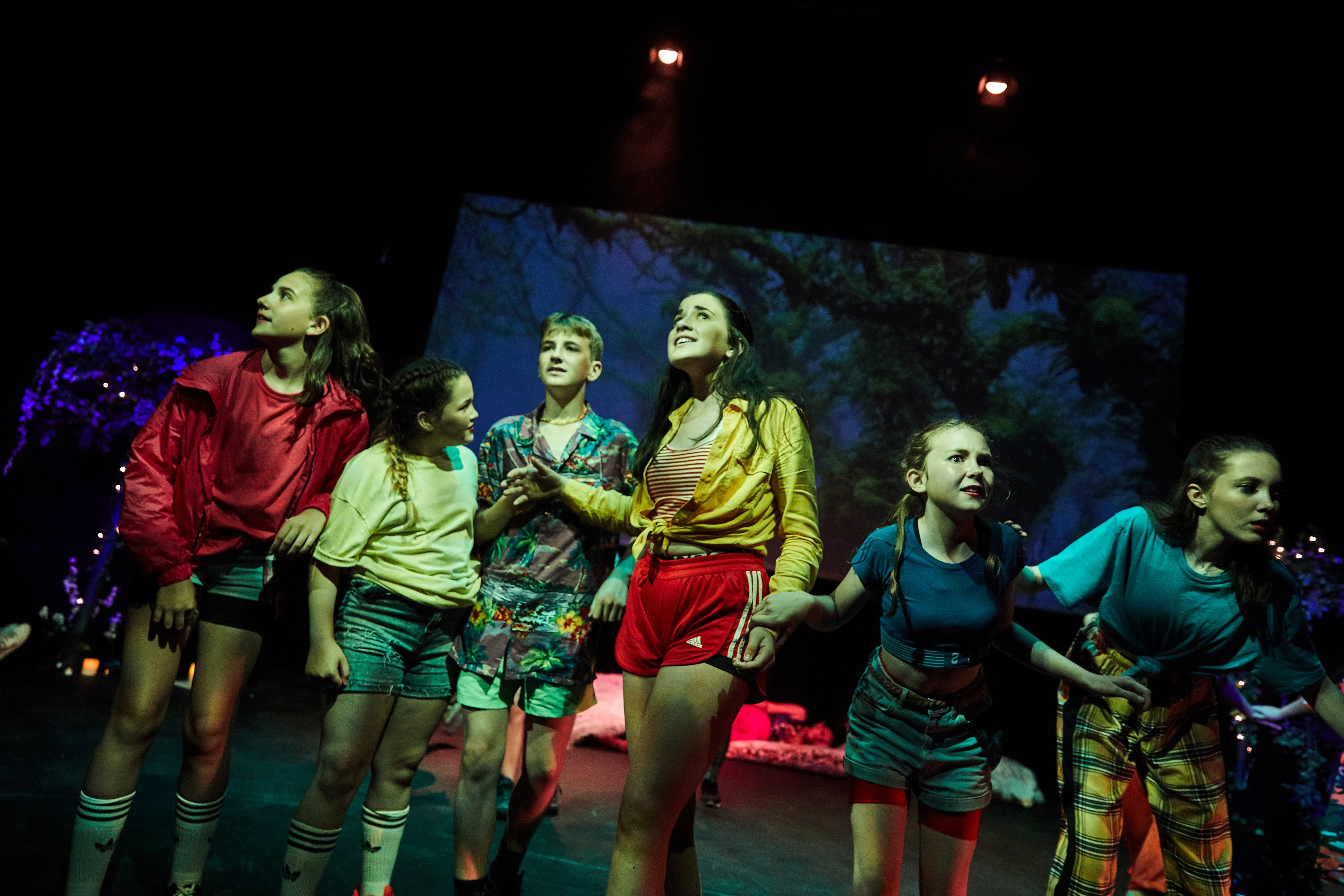 Actors from ELEVATE's A Midsummer Night's Dream Remixed
