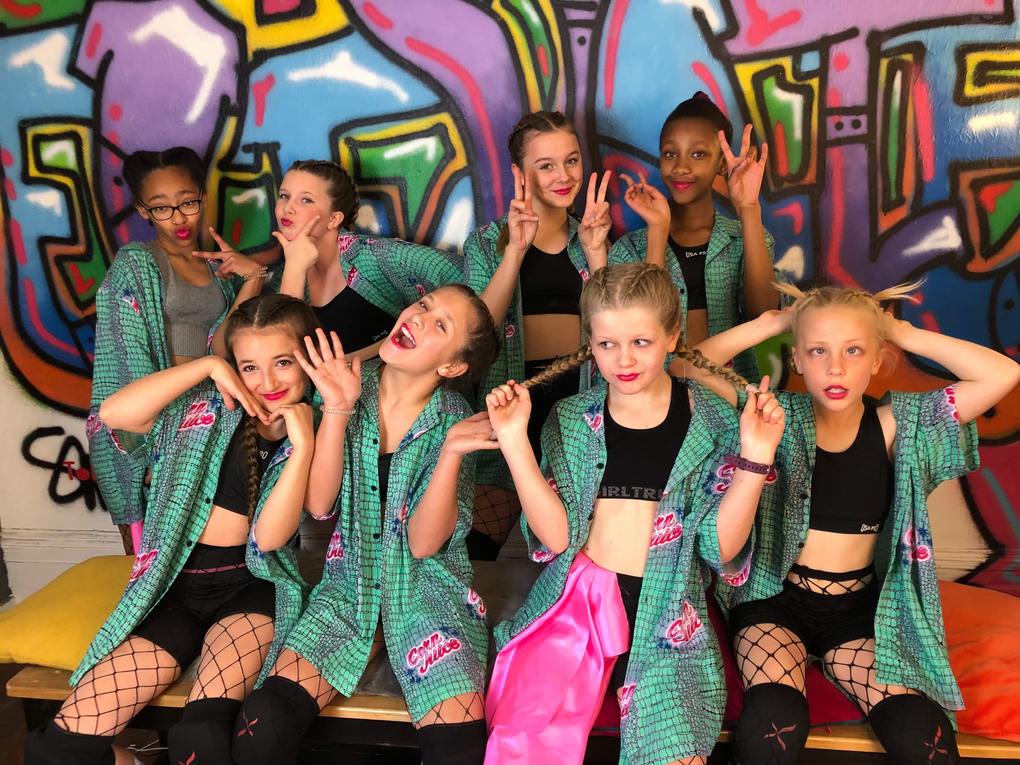 Fresh Crew dancers